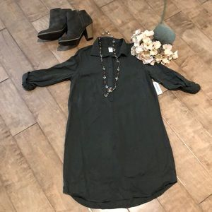OLD NAVY L/S cuffed dress